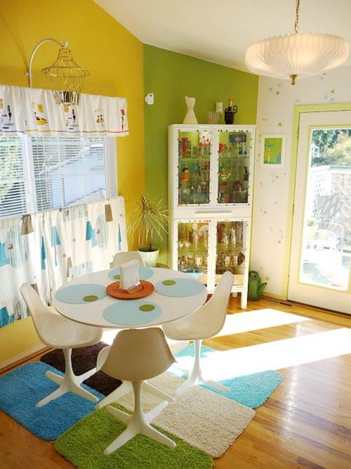 colorful-retro-dining-room