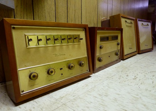 nutone in wall stereo system image