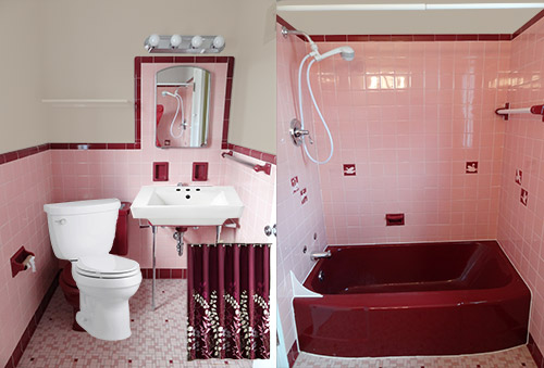 pink bathroom color schemes a color scheme for a pink maroon and white bathroom 19987