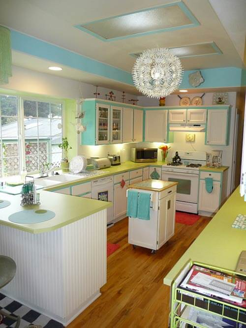 Lora s vintage style kitchen makeover inspired by a single - Lora S Vintage Style Kitchen Makeover Inspired By A