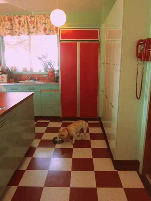 red-fridge