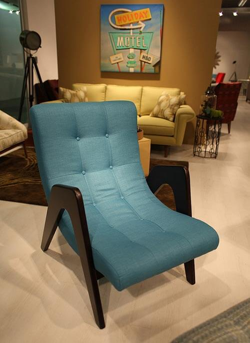 Turquoise Side Chair Yonger Ave 62 Line