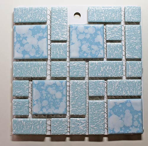 University Blue Retro Merola Tile