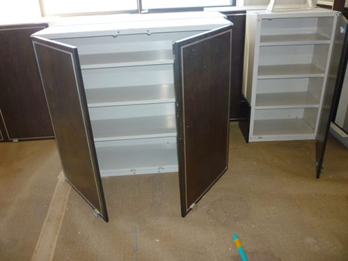 walnut-upper-metal-cabinets-st-charles