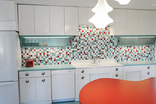white-red-aqua-retro-modern-kitchen