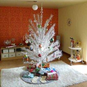 retro Aluminum-Christmas Tree
