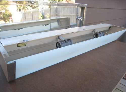 satin glide bathroom vanity light fixture