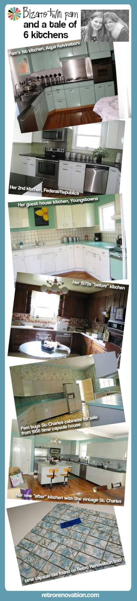 six kitchen renovations