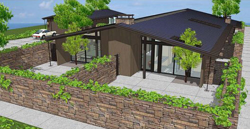 Historic Mid Century Modern House Plans For Sale Today - Retro