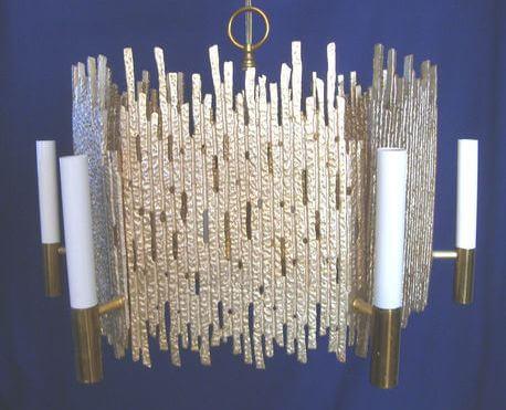 moe chandelier brutalist 1973