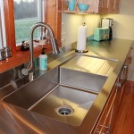 retro-modern-stainless-steel-drain-board-sink