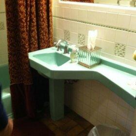 banjo sink rare bathroom sink