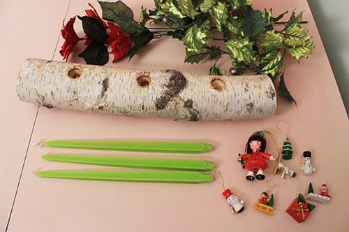 yule-log-materials