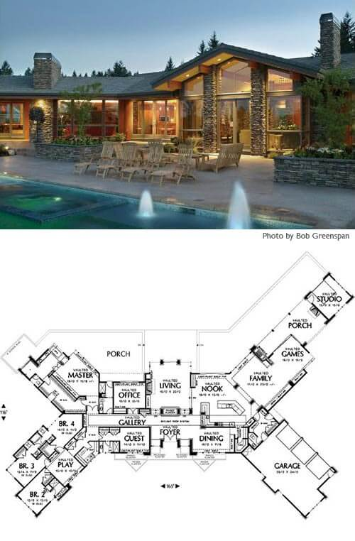 8 Cliff May Inspired Ranch House Plans From Houseplanscom
