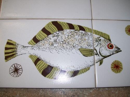 vintage pomona tile fish