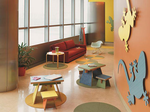 Kids-play-area-with-new-100th-anniversary-formica