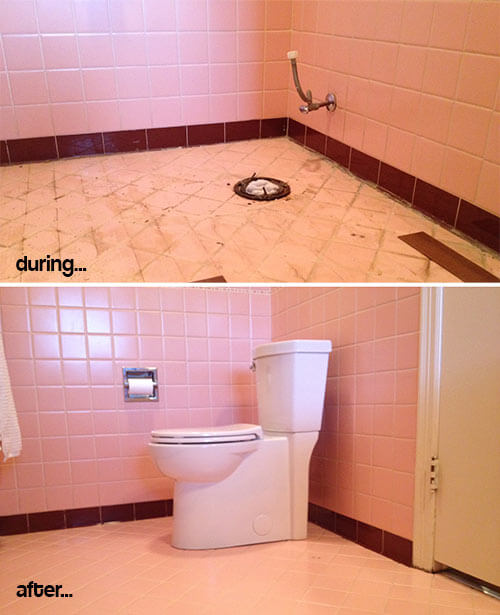 Mike And Lindsey S Pink Master Bathroom Remodel Artfully