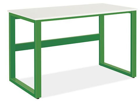 flower power green desk