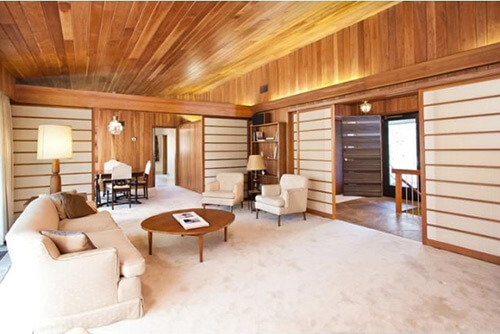 mid-century-living-room-wood-walls