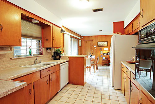 kitchen cabinets mid century modern 1956 time capsule ranch house original owner mid century 20811