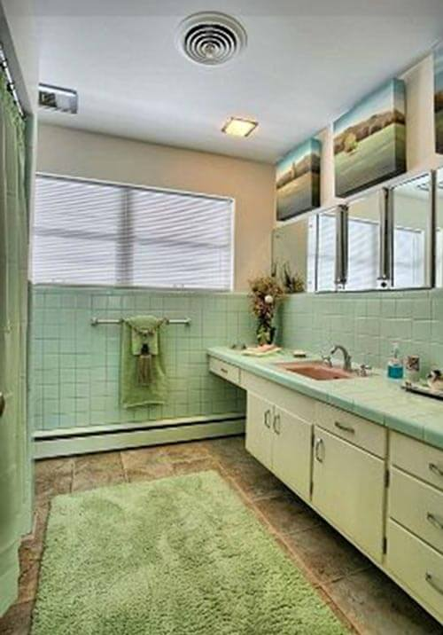 1960s Bathroom Design Ideas ~ Photos time capsule mid century modern ranch