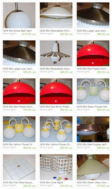 New Old Stock vintage lights