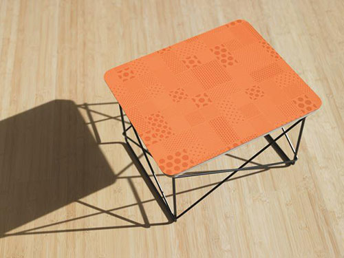 orange-halftone-formica-used-on-retro-table