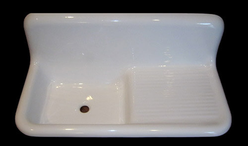 Charmant Reproduction Fiberglass Drainboard Sink