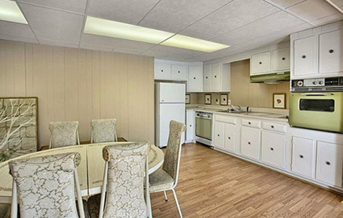retro-basement-kitchen-green-stove