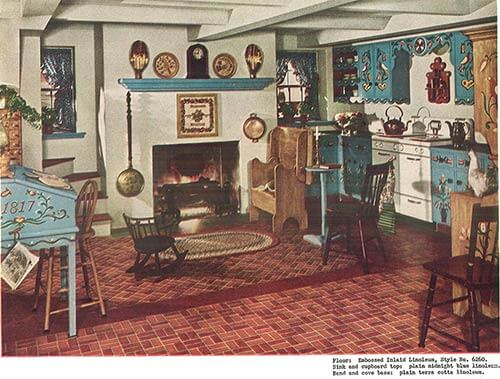 vintage-1940s-pennsylvania-dutch-kitchen ...