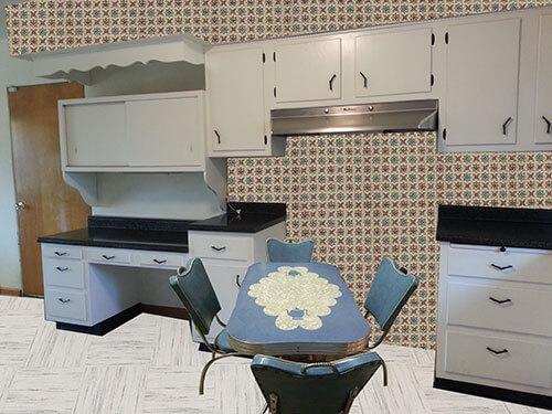 vintage-blue-and-cream-kitchen