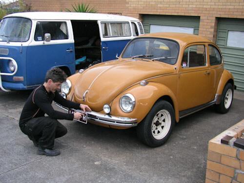 vintage volkswagen australia