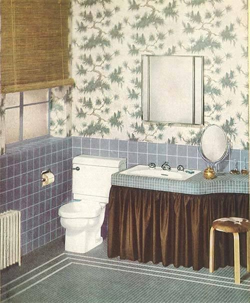 48 Pages Of Vintage Bathroom Design Ideas From Crane 48 Catalog Unique 1940 Bathroom Design