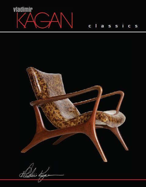 Vladimir Kagan Classic Furniture Vladimir Kagan