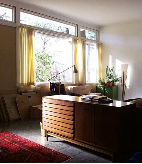 Window Treatments Mid Century Modern House Part 95