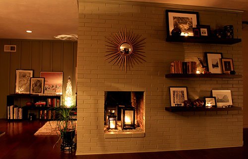 decorating fireplaces
