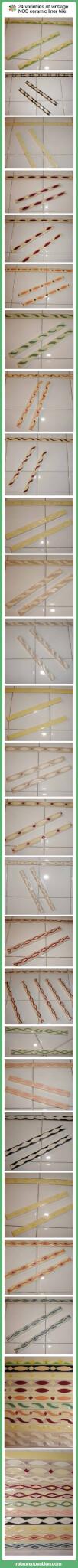 vintage Liner-tiles