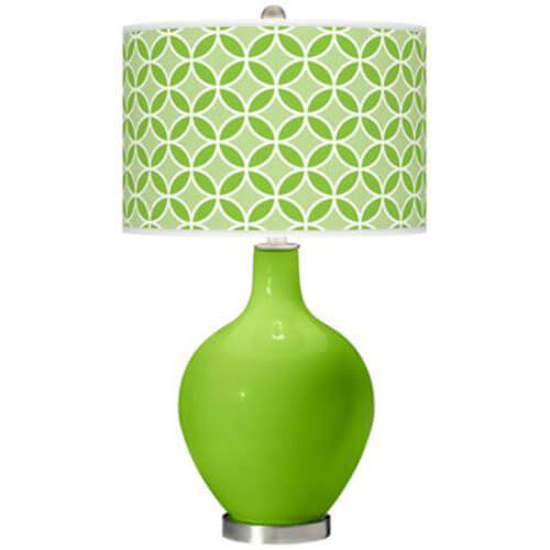 color-plus-green-Ovo-lamp-green-patterned-shade