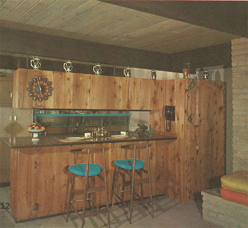 mid-century-knotty-pine-kitchen