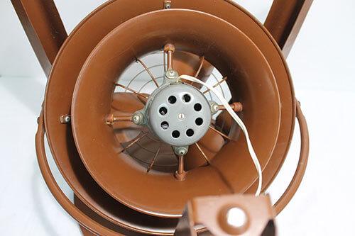 mid century modern fan