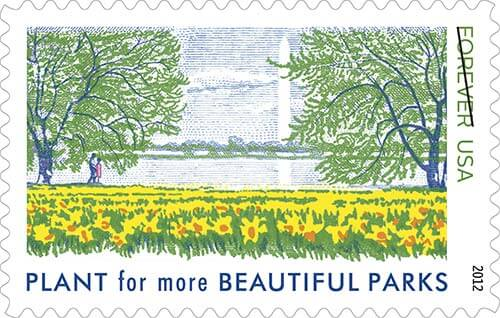 vintage-reissue-stamps-plant-for-beautiful-parks
