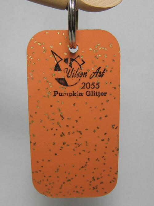 vintage-wilsonart-pumpkin-glitter
