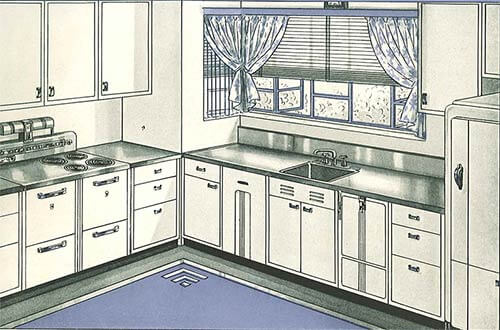 Whitehead steel kitchen cabinets - 20-page catalog from 1937 - Retro ...