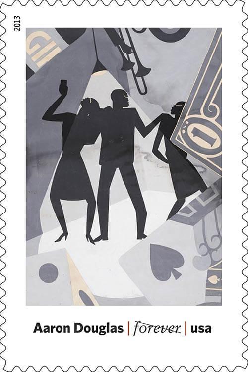 Aaron-Douglas-Art-in-America-USPS-stamp