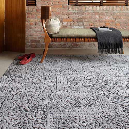 area rug gray