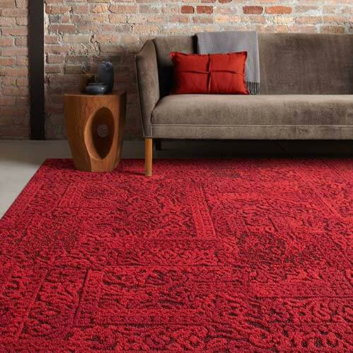 antique red carpet