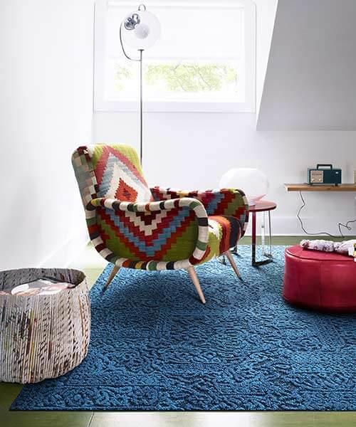 Chenille FLOR tiles 1970s colors