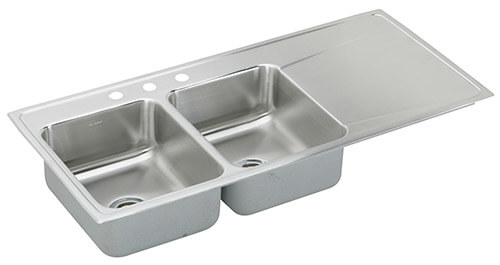 Elkay Drop In Ss Drainboard Sink ...