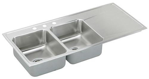 Elkay Drop In Ss Drainboard Sink