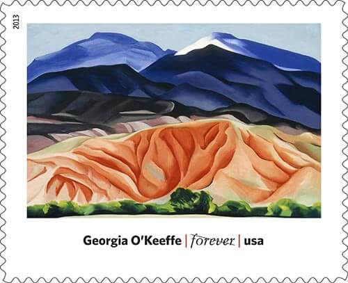 Georgia-O-Keefe-Art-in-america-stamp-USPS